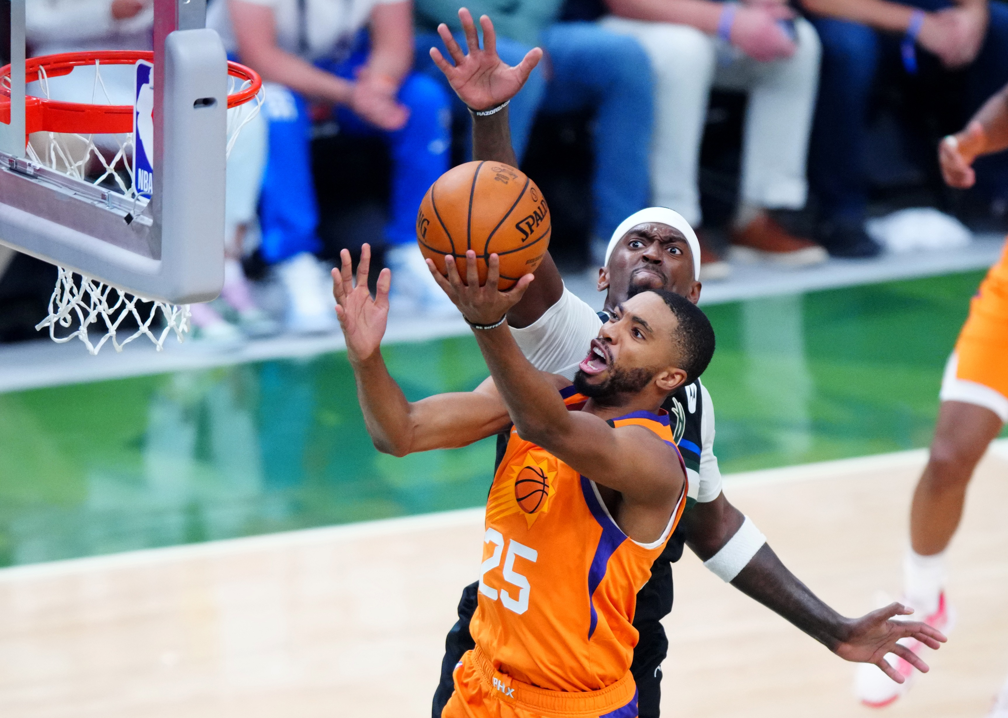 Mikal Bridges is due for a contract extension with the Phoenix Suns