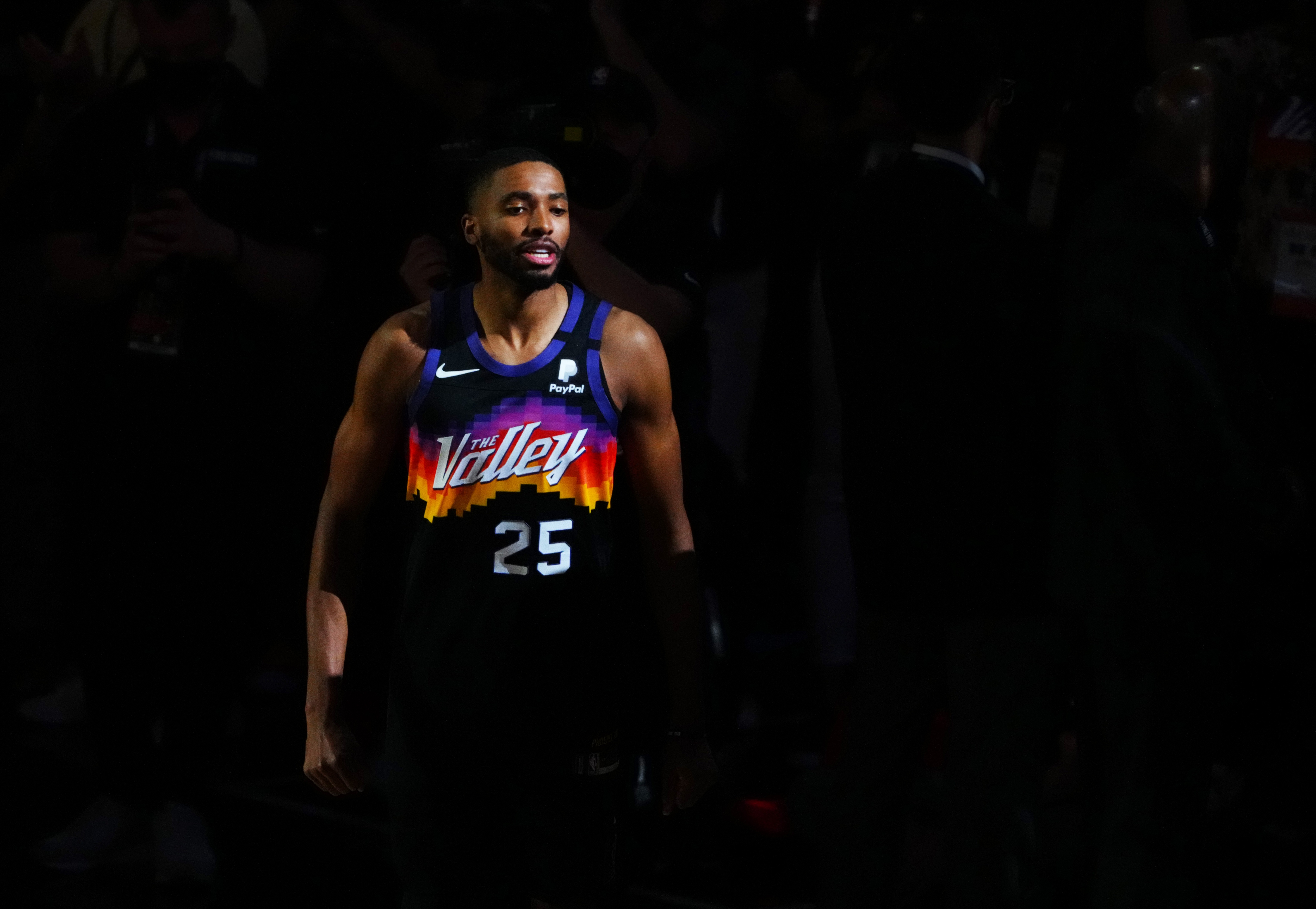 Mikal Bridges is ready to be the Phoenix Suns' third option.
